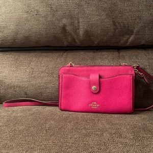 Coach small wallet crossbody bag